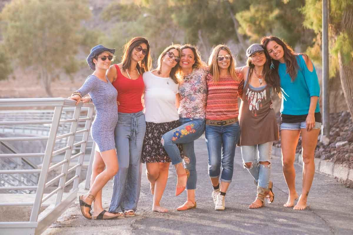 vakantie vriendinnen