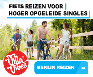 villavibes fietsvakanties banner